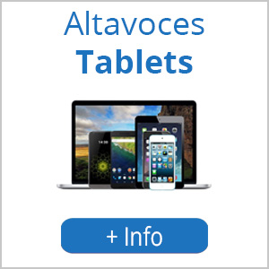 Altavoces tablets